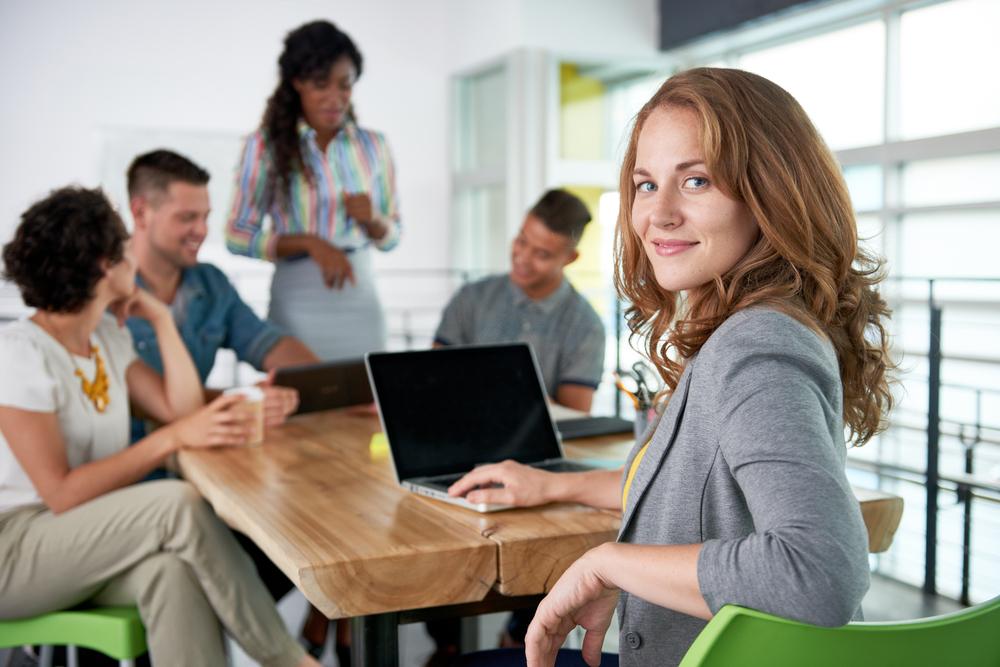 formação de inglês de negócios em sala